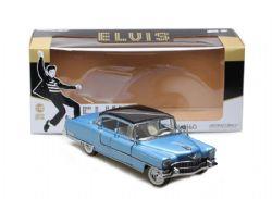 CADILLAC -  ELVIS'S 1955 FLEETWOOD SERIE 60 1/18 - BLUE -  ELVIS