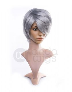 CAINE CLASSIC WIG - LIGHT GRAY (ADULT)