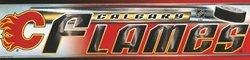 CALGARY FLAMES -  BUMPER STICKER