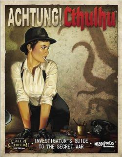 CALL OF CTHULHU -  ACHTUNG! CTHULHU - INVESTIGATORS GUIDE SECRET WAR