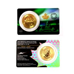 CANADA 150 -  VOYAGEUR DESIGN - 1 OUNCE PURE GOLD COIN -  2017 CANADIAN COINS