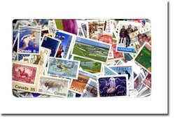 CANADA -  1500 ASSORTED STAMPS - CANADA