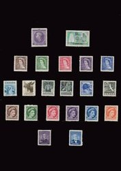 CANADA -  1953-1954 COMPLETE YEARS SET, 22 NEW STAMPS