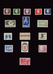 CANADA -  1962-1963 COMPLETE YEARS SET, 15 NEW STAMPS