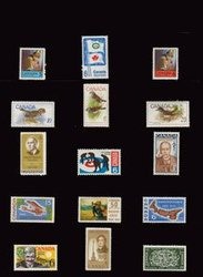 CANADA -  1969 COMPLETE YEAR SET, 15 NEW STAMPS