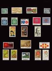 CANADA -  1971 COMPLETE YEAR SET, 20 NEW STAMPS