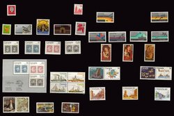 CANADA -  1978 COMPLETE YEAR SET, 38 NEW STAMPS