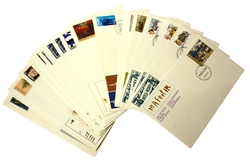 CANADA -  1981 COMPLETE YEAR SET, 31 FIRST DAY COVERS