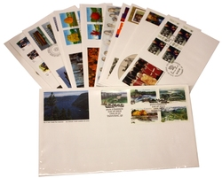 CANADA -  1994 COMPLETE YEAR SET, 21 FIRST DAY COVERS