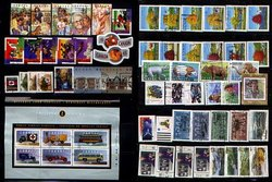 CANADA -  1994 COMPLETE YEAR SET, 63 USED STAMPS