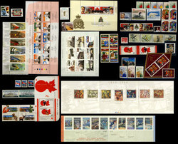 CANADA -  1998 COMPLETE YEAR SET, 94 NEW STAMPS