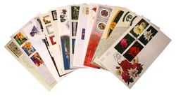 CANADA -  2001 COMPLETE YEAR SET, 27 FIRST DAY COVERS