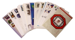 CANADA -  2002 COMPLETE YEAR SET, 32 FIRST DAY COVERS