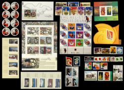 CANADA -  2003 COMPLETE YEAR SET, 65 USED STAMPS