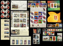 CANADA -  2003 COMPLETE YEAR SET, 70 NEW STAMPS
