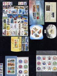 CANADA -  2005 COMPLETE YEAR SET, 85 NEW STAMPS