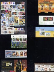 CANADA -  2006 COMPLETE YEAR SET, 76 NEW STAMPS