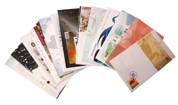 CANADA -  2009 COMPLETE YEAR SET, 29 FIRST DAY COVERS