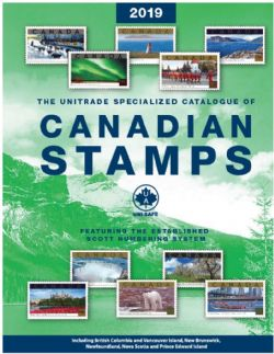 CANADA -  2019 UNITRADE SPECIALIZED CATALOGUE OF CANADIAN STAMPS