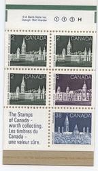 CANADA -  BOOKLET #100 (SCOTT: 1188A)