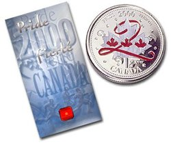 CANADA DAY -  PRIDE -  2000 CANADIAN COINS 02
