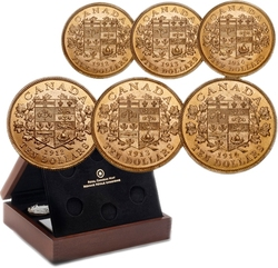 CANADA'S FIRST GOLD COINS -  1912-1913-1914 PREMIUM HAND-SELECTED 6-COIN SET -  1912-1914 CANADIAN COINS
