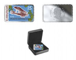 CANADA'S HISTORICAL STAMPS (2019) -  100TH ANNIVERSARY OF THE FIRST NON-STOP TRANSATLANTIC FLIGHT -  2019 CANADIAN COINS 02