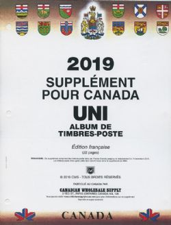 CANADA UNI -  2019 SUPPLEMENT (FRENCH)