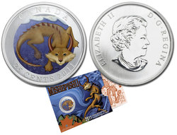 CANADIAN MYTHICAL CREATURES -  MISHEPISHU -  2011 CANADIAN COINS 03