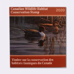 CANADIAN WILDLIFE HABITAT CONSERVATION STAMP -  2020