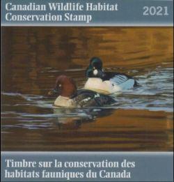 CANADIAN WILDLIFE HABITAT CONSERVATION STAMP -  2021