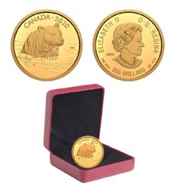CANADIAN WILDLIFE PORTRAITS -  THE GRIZZLY BEAR -  2020 CANADIAN COINS 02