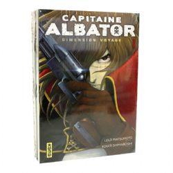 CAPITAINE ALBATOR -  MANGAS USAGÉS TOME 01 ET 03 -  DIMENSION VOYAGE
