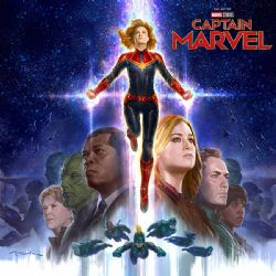 CAPTAIN MARVEL -  THE ART OF CAPTAIN MARVEL