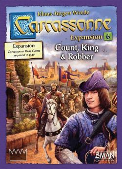 CARCASSONNE -  COUNT, KING AND ROBBER (ENGLISH)