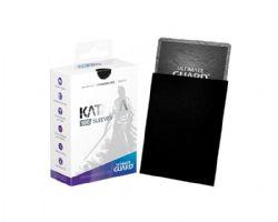 CARD SLEEVES -  KATANA STANDARD SIZE SLEEVE (100) (66 MM X 91 MM) - BLACK -  ULTIMATE GUARD