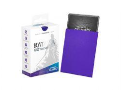 CARD SLEEVES -  KATANA STANDARD SIZE SLEEVE (100) (66 MM X 91 MM) - BLUE -  ULTIMATE GUARD