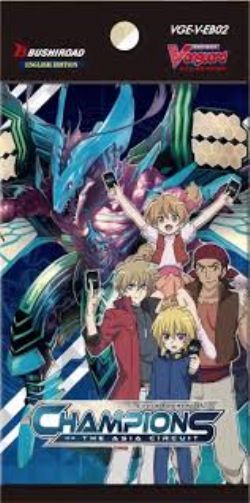 CARDFIGHT !! VANGUARD -  CHAMPIONS OF THE ASIA CIRCUIT - BOOSTER PACK (P7/B12)