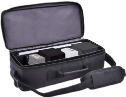 CARRYING CASE -  DELUXE GAMING TROVE - BLACK