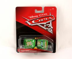CARS -  CHICK HICKS WITH HEADSET 1/64 -  CARS 3