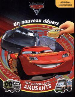 CARS -  UN NOUVEAU DÉPART - MES AUTOCOLLANTS AMUSANTS -  CARS 3
