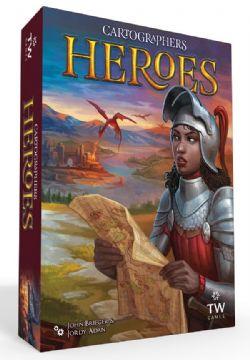 CARTOGRAPHERS HEROES -  BASE GAME (ENGLISH)
