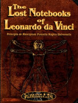 CASTLE FALKENSTEIN -  THE LOST NOTEBOOKS OF LEONARDO DA VINCI (ENGLISH)
