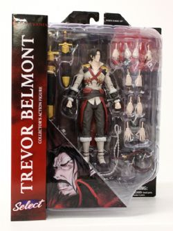 CASTLEVANIA -  TREVOR BELMONT ACTION FIGURE (6INCHES)