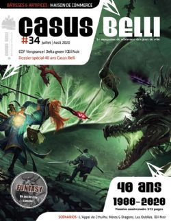 CASUS BELLI -  JULY / AUGUST 2020 (FRENCH) 34