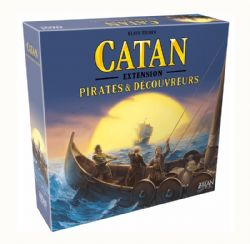 CATAN -  PIRATES ET DÉCOUVREURS - USED (FRENCH)