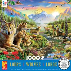 CEACO WOLVES -  SUMMER WOLVES (1000 PIECES)