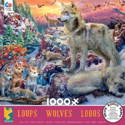 CEACO WOLVES -  WINTER WOLVES (1000 PIECES)