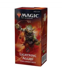 CHALLENGER DECKS 2019 -  LIGHTNING AGGRO (60-CARD DECKS)
