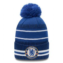 CHELSEA F.C. -  NEW ERA - POM BEANIE - BLUE/WHITE
